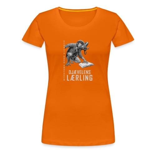 Djævelens lærling sh - Dame premium T-shirt