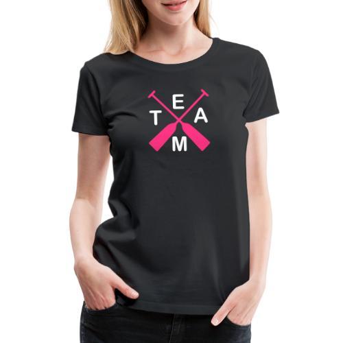Drachenboot Team 2c - Frauen Premium T-Shirt
