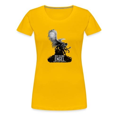 Den faldne engel sh - Dame premium T-shirt