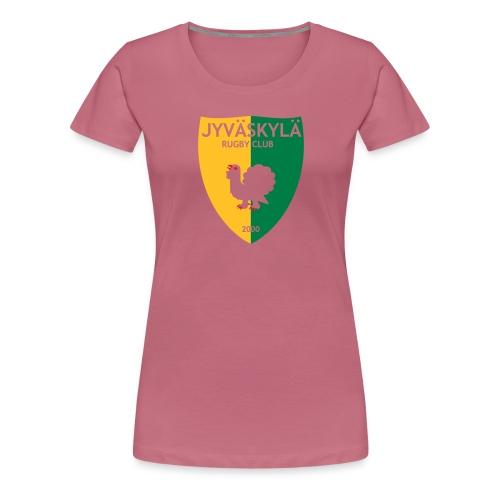 JRC Logo - Naisten premium t-paita