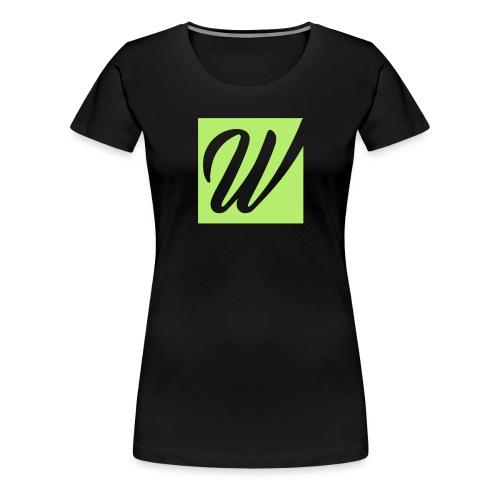 W only W!!!! - Frauen Premium T-Shirt