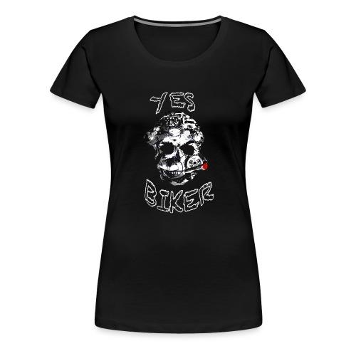 Biker und Chopper - Frauen Premium T-Shirt