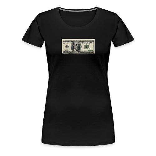 dollar - Premium T-skjorte for kvinner