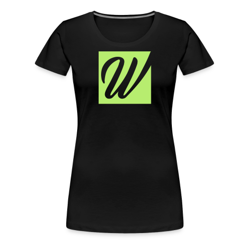 W only W!!!! - Frauen Premium T-Shirt