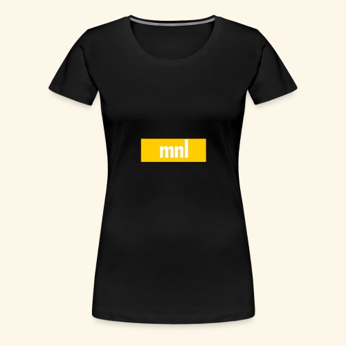 mnl Box Logo. - Frauen Premium T-Shirt
