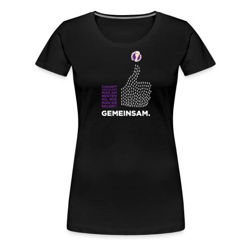Zukunft gestalten - Frauen Premium T-Shirt