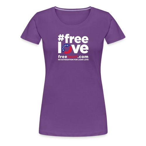 freeloveblack01 - Women's Premium T-Shirt