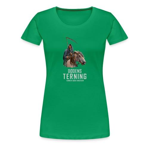 T shirt Dødens terning - Dame premium T-shirt