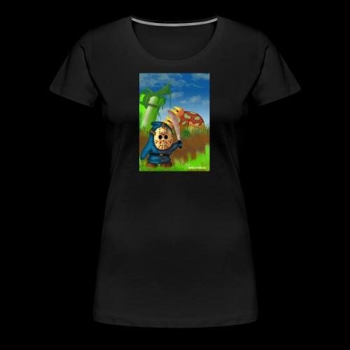 SuperMario: Not so shy guy - Vrouwen Premium T-shirt