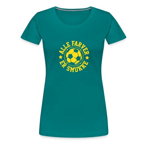 Alle farver er smukke - Dame premium T-shirt