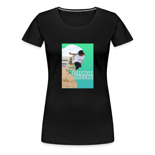 Rainbow Flick Tee - Women's Premium T-Shirt