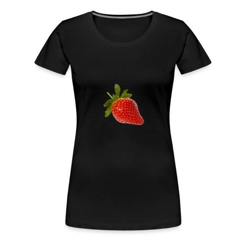 Erdbeere - Frauen Premium T-Shirt
