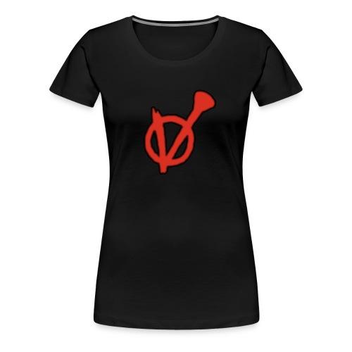 V- Logo Die Vertriebenen - Frauen Premium T-Shirt