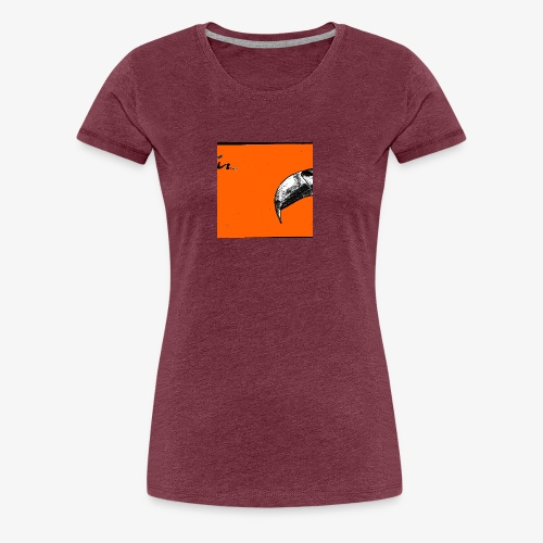 Beak Original Artwork - Premium-T-shirt dam