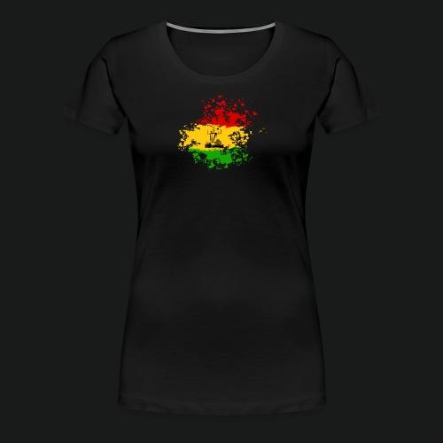 dc_10_logo_rastanew_passe - Frauen Premium T-Shirt