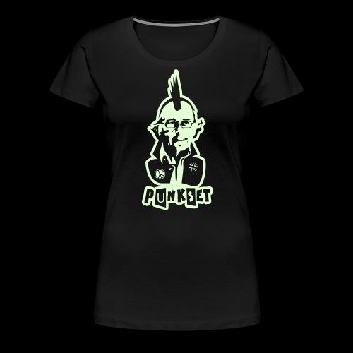 Punkset Ciencia y Punk - Women's Premium T-Shirt