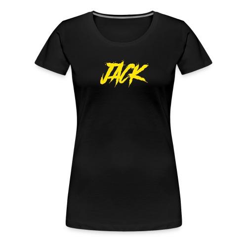 Jack gelb - Frauen Premium T-Shirt