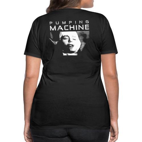 Negant logo + Pumping Machine - Dame premium T-shirt