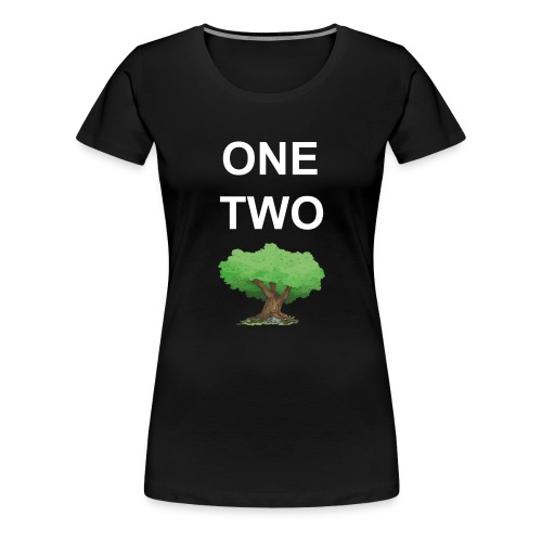 One Two Tree - Frauen Premium T-Shirt