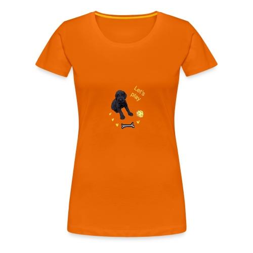Giant Schnauzer puppy - Women's Premium T-Shirt