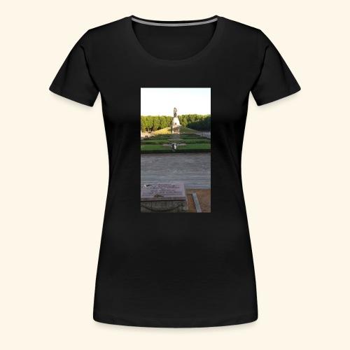 Mahnmal gegen den Krieg - Frauen Premium T-Shirt