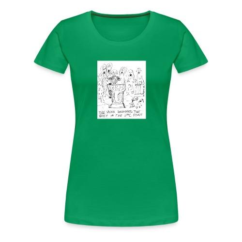 babyfonttoupload - Women's Premium T-Shirt