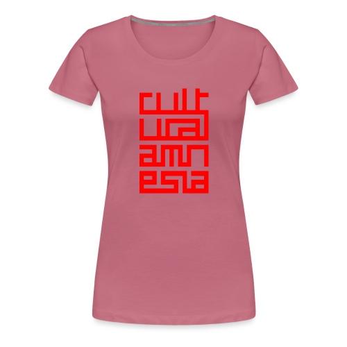 Wierd CA Logo 2 - Women's Premium T-Shirt