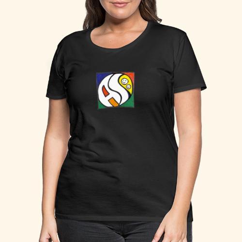 AS (nur Logo) - Frauen Premium T-Shirt