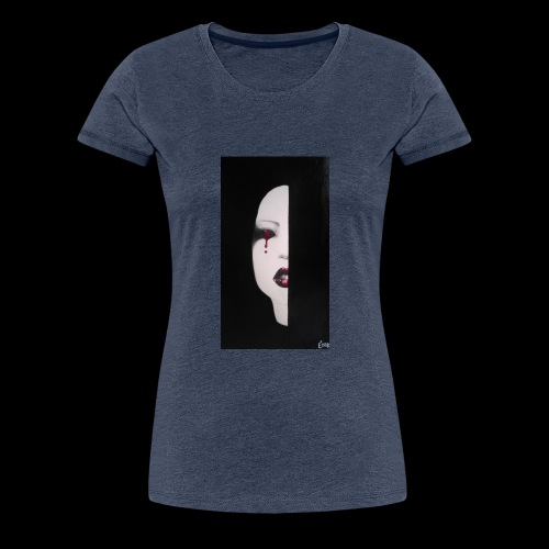 BlackWhitewoman - Maglietta Premium da donna