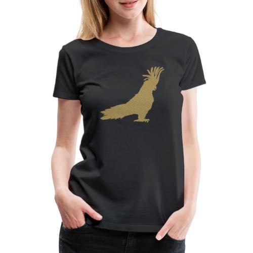 Papagei Gold - Frauen Premium T-Shirt