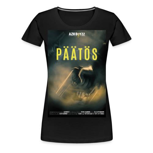 Päätös (1print) - Naisten premium t-paita
