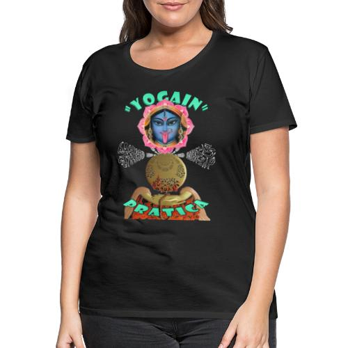 YogaIn Pratica - Maglietta Premium da donna