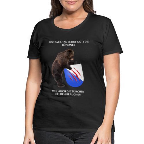 Bär Zürcher - Frauen Premium T-Shirt