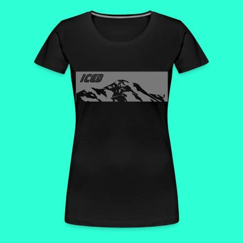 Mountain white - T-shirt Premium Femme