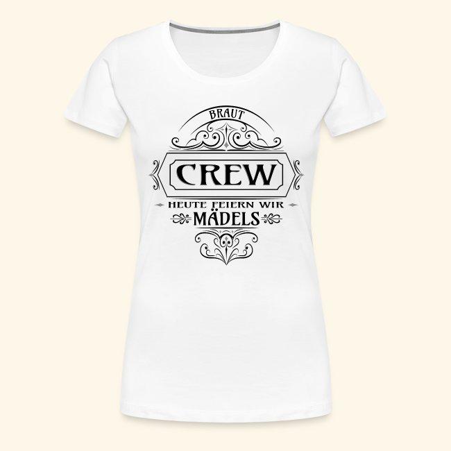 Junggesellinnenabschied - Braut Crew Team Bride
