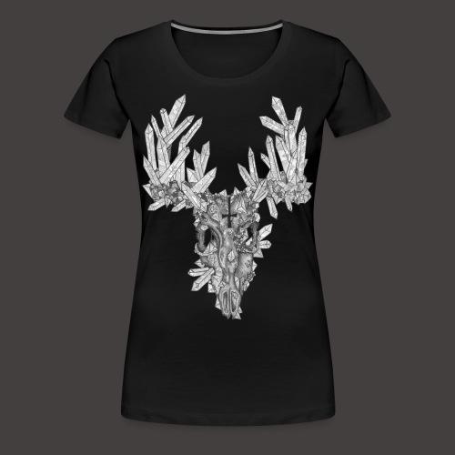 Le Cerf de Cristal - T-shirt Premium Femme