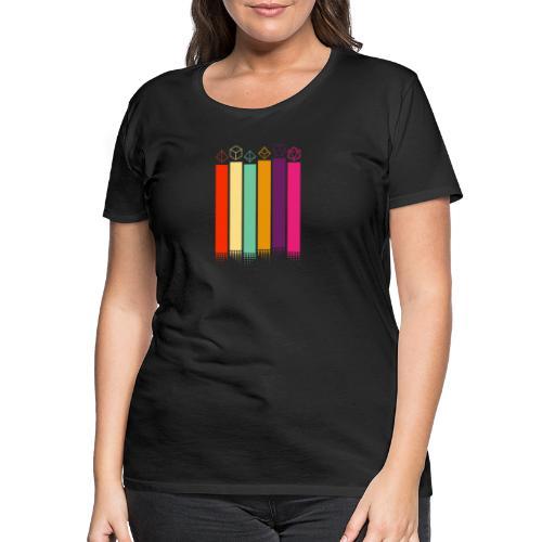 70s Dice - Women's Premium T-Shirt