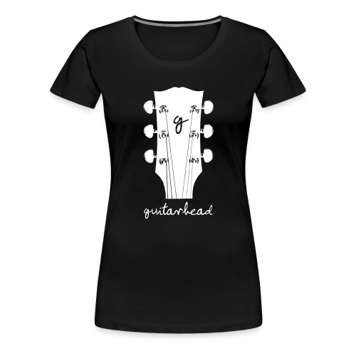 guitarhead - Frauen Premium T-Shirt