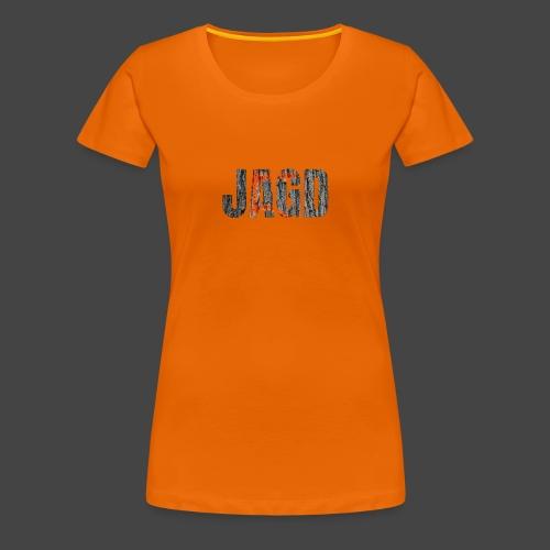 JAGD-Shirt für Jäger/innen, Motiv Drückjagdstand - Frauen Premium T-Shirt
