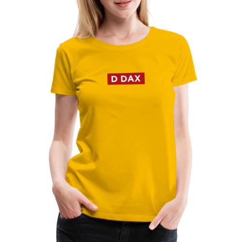 D DAX - Premium-T-shirt dam