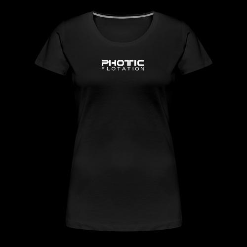 PHOTIC FLOTATION LOGO - Premium T-skjorte for kvinner