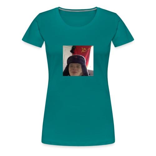 Kommunisti Saska - Naisten premium t-paita