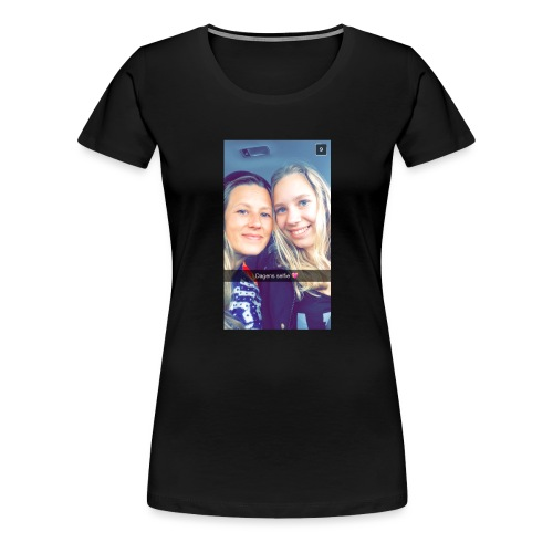 Privat - Premium T-skjorte for kvinner