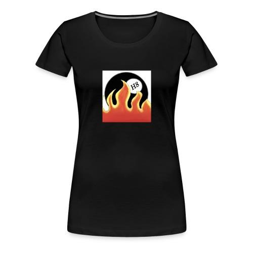 Burning H8 - Frauen Premium T-Shirt