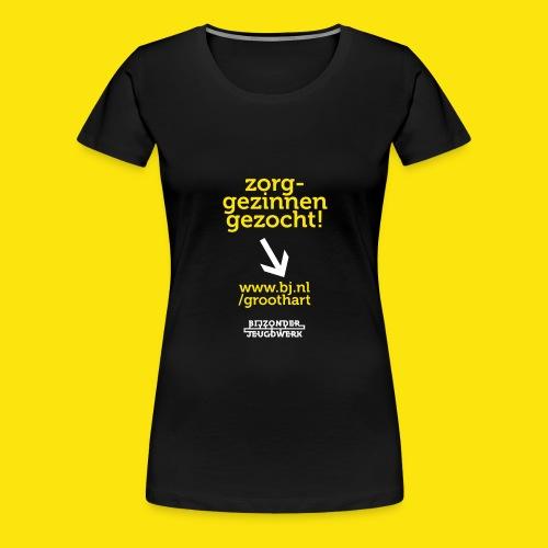 groothart 3 - Vrouwen Premium T-shirt