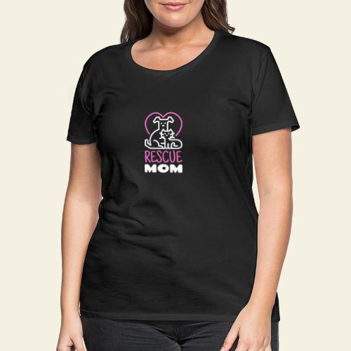 Rescue Mom - Naisten premium t-paita