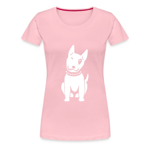 Bullterrier comic - Frauen Premium T-Shirt