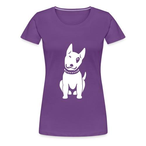 Bullterrier comic - Frauen Premium T-Shirt