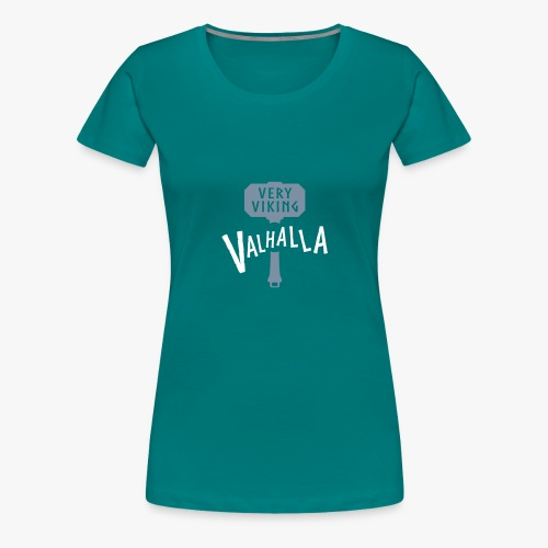 Valhalla - Very Viking - Dame premium T-shirt