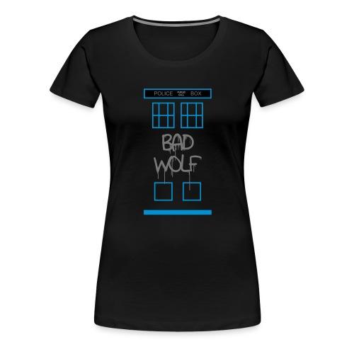 Doctor Who Bad Wolf - Maglietta Premium da donna
